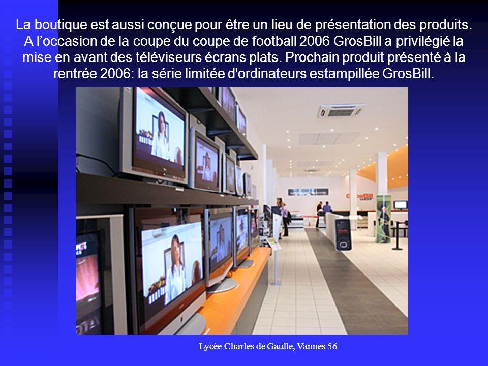 Lycée Charles de Gaulle, Vannes 56 Accolé à l entrepôt, se trouve l espace de retrait des commandes.