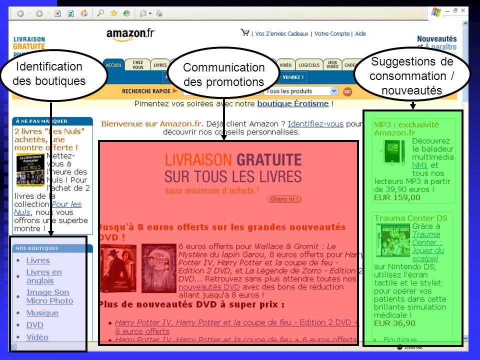 Lycée C de Gaulle - Vannes 56 000 Identification des boutiques Communication des promotions Suggestions de consommation / nouveautés
