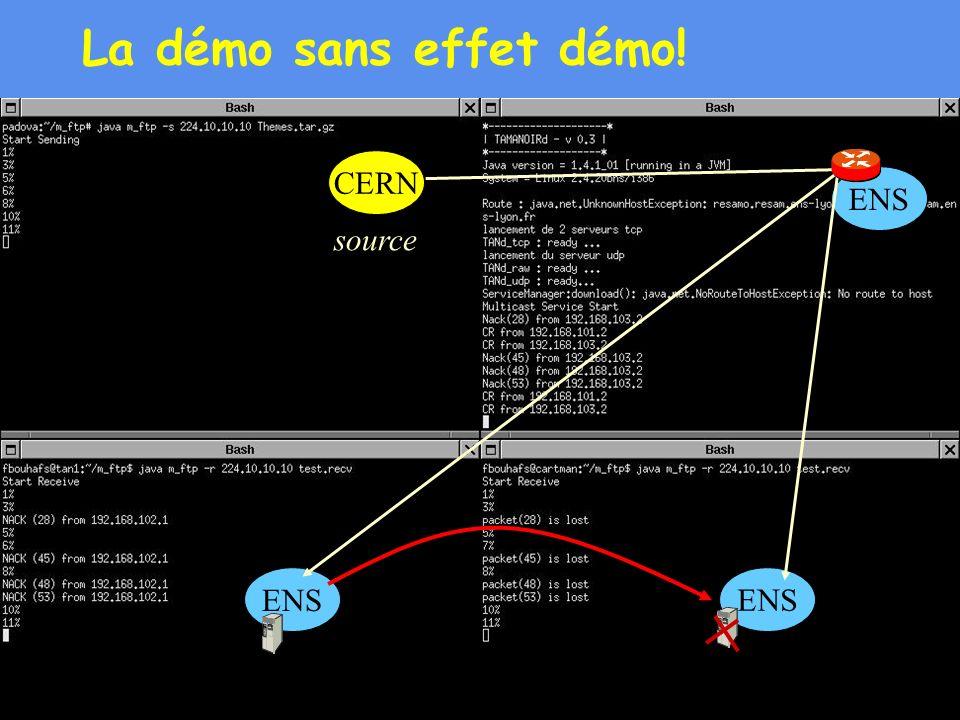 53 La démo sans effet démo! source CERN ENS