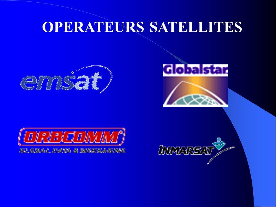 OPERATEURS SATELLITES