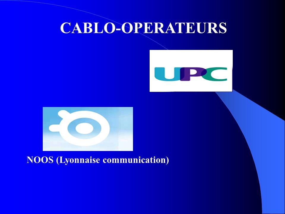 CABLO-OPERATEURS NOOS (Lyonnaise communication)