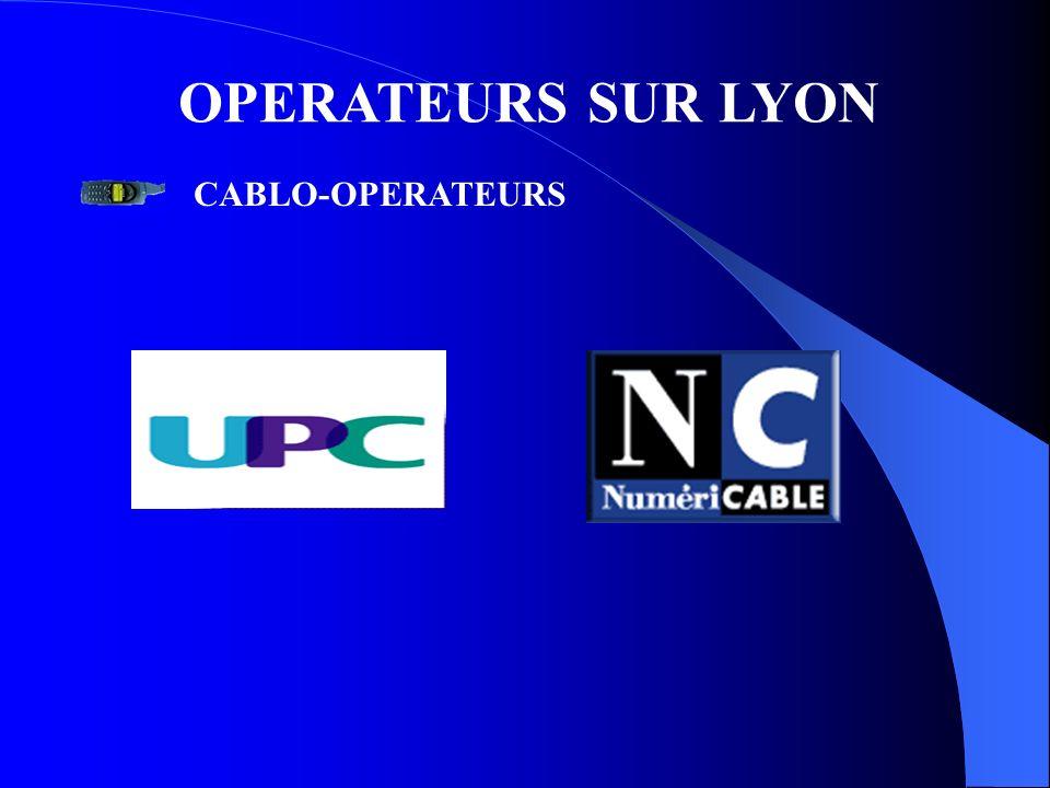 OPERATEURS SUR LYON CABLO-OPERATEURS