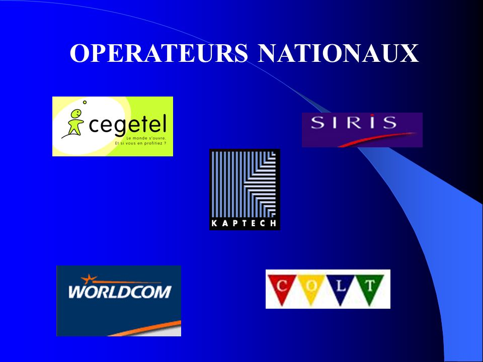 OPERATEURS NATIONAUX
