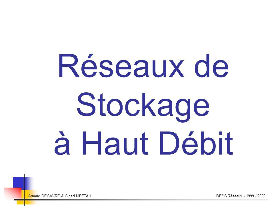 Arnaud DEGAVRE & Gihed MEFTAH DESS Réseaux - 1999 / 2000 Les équipements dinterconnexion Les équipements dinterconnexion Concentrateurs (hubs), Routeurs.
