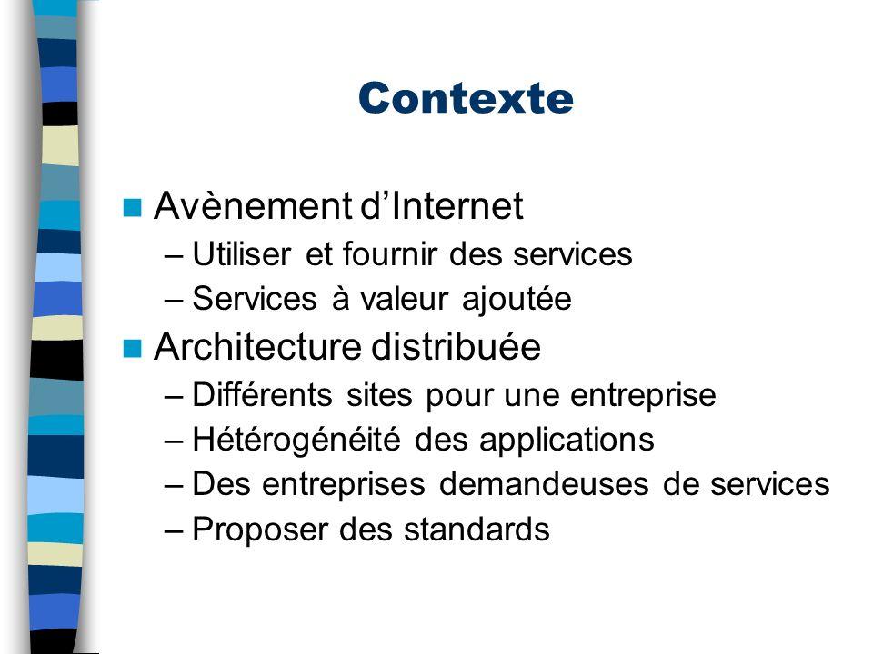 Web service = .