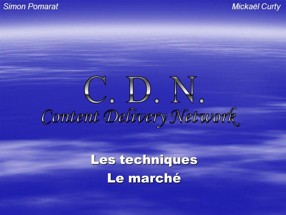 Les techniques Le marché Simon PomaratMickaël Curty