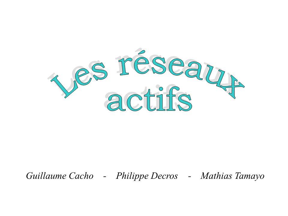 Guillaume Cacho - Philippe Decros - Mathias Tamayo