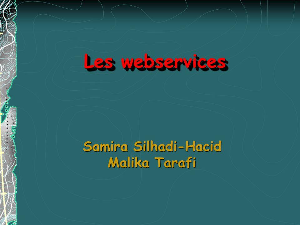 Sommaire 1.Introduction 2.Définition des services web 3.Les technologies des services web 4.Les différentes étapes pour construire un service web 5.