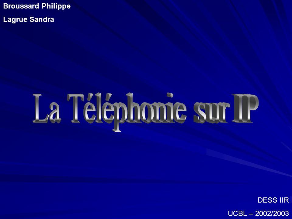Téléphonie sur IP ? Pourquoi ? Problèmes Solutions Architectures Acteurs Déploiement Conclusion
