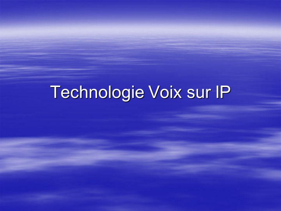 Technologie Voix sur IP