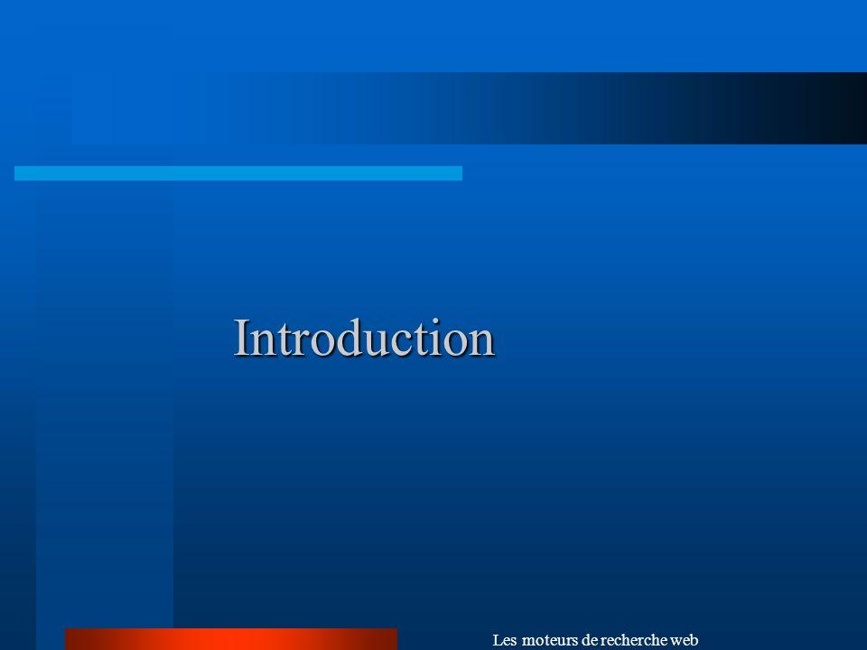 Les moteurs de recherche web Structure base de données (DILIB)