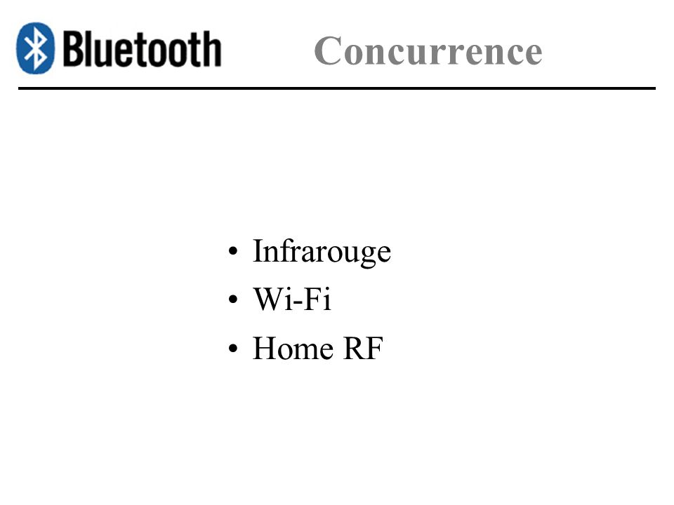 Concurrence Infrarouge Wi-Fi Home RF