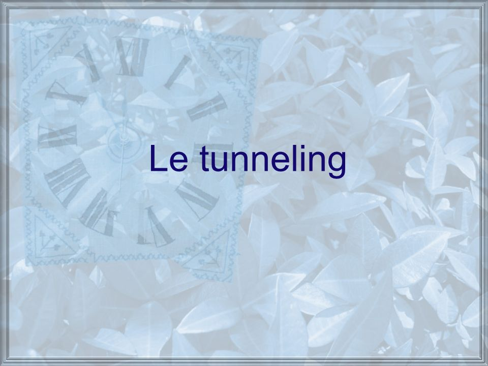 Le tunneling