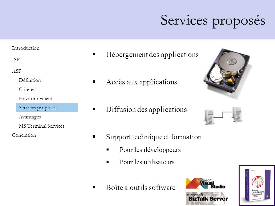 Hébergement des applications Accès aux applications Diffusion des applications Support technique et formation Pour les développeurs Pour les utilisate