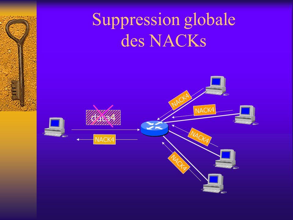 Suppression globale des NACKs ENSCERN CEA ROCQ VTHD source NACK