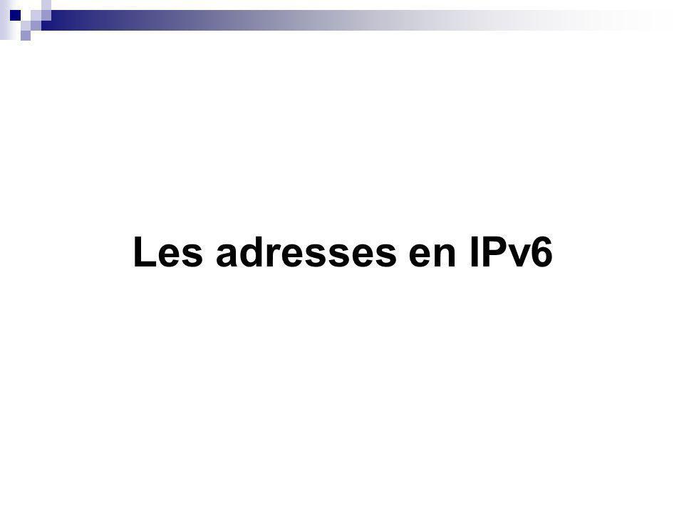 La transition de IPv4 à IPv6