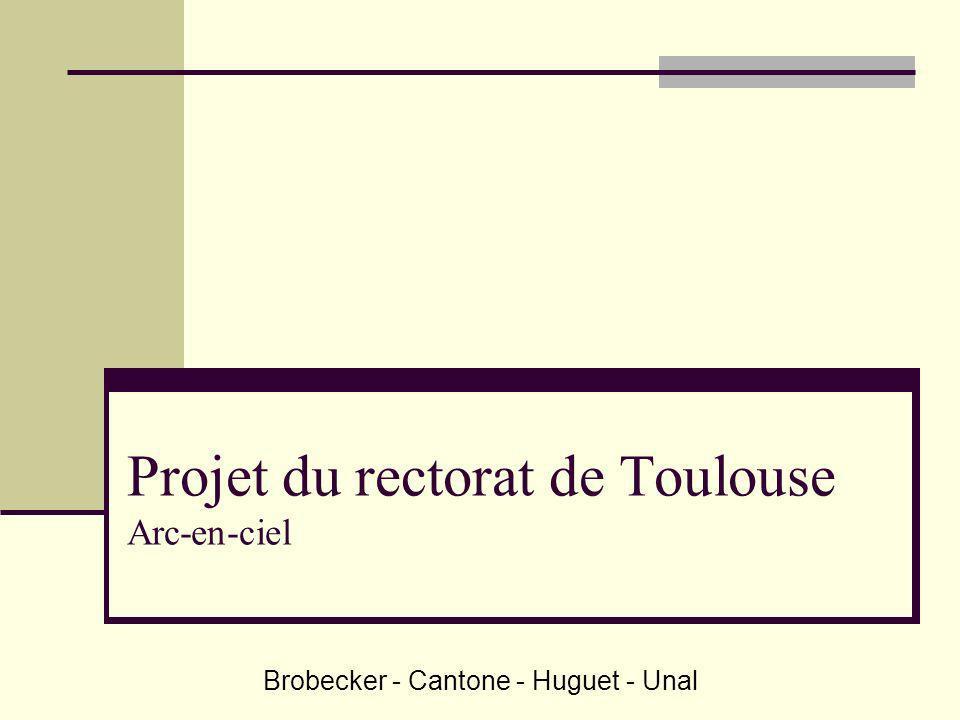 Projet du rectorat de Toulouse Arc-en-ciel Brobecker - Cantone - Huguet - Unal