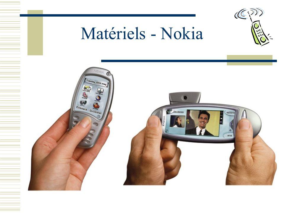 Matériels - Nokia