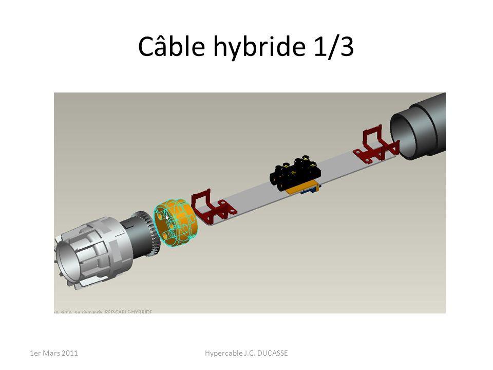 Câble hybride 1/3 Hypercable J.C. DUCASSE1er Mars 2011
