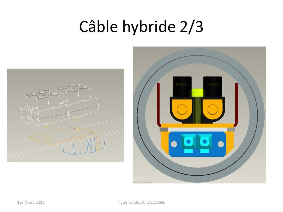 Câble hybride 2/3 1er Mars 2011Hypercable J.C. DUCASSE