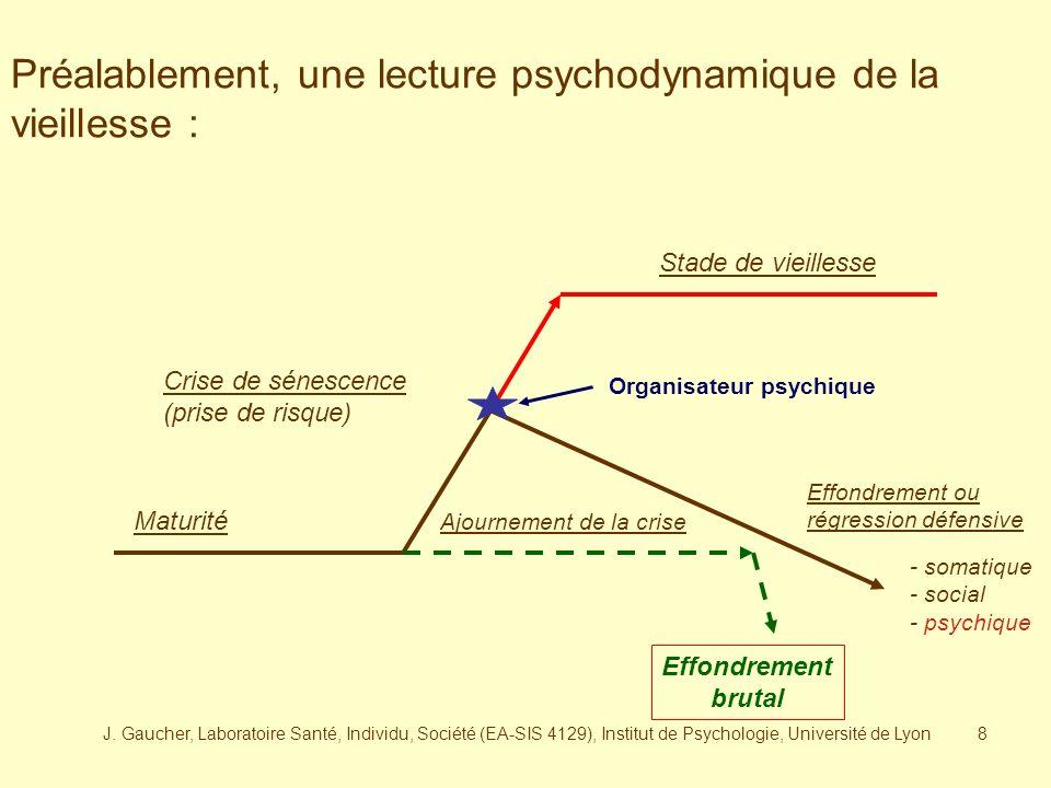 J. Gaucher, Laboratoire Santé, Individu, Société (EA-SIS 4129), Institut de Psychologie, Université de Lyon7 Le stéréotype « paidologie »: La vieilles