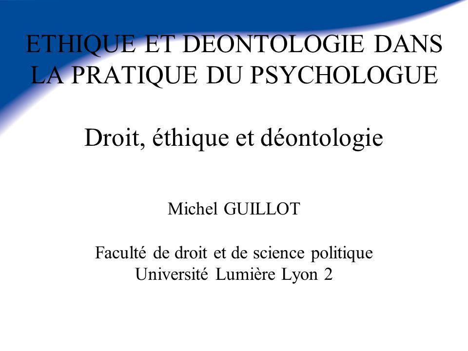 Odile Bourguignon La déontologie des psychologues Editions : Armand Colin Collection : 128 Date de parution : 01/02/2005