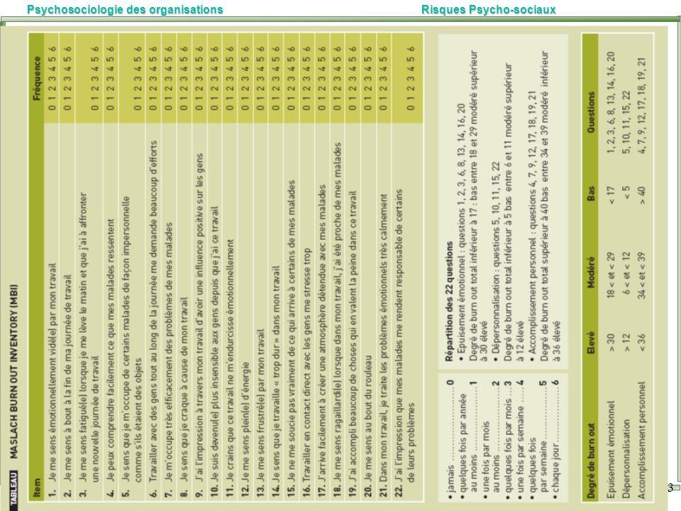 Marc-Eric BOBILLIER CHAUMON Université Lyon 2 Psychosociologie des organisationsRisques Psycho-sociaux 23