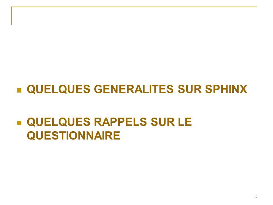 Questions de vocabulaire….