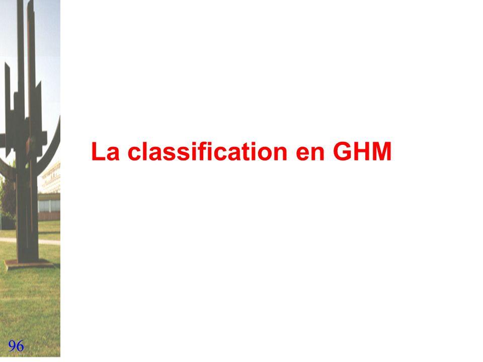 96 La classification en GHM