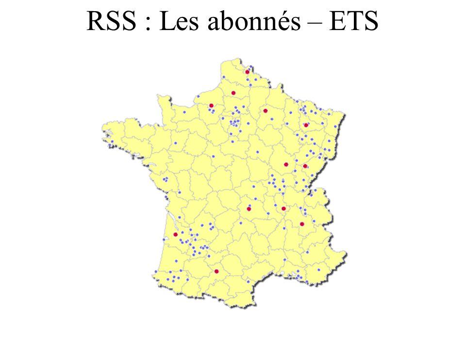 RSS : Les abonnés – ETS