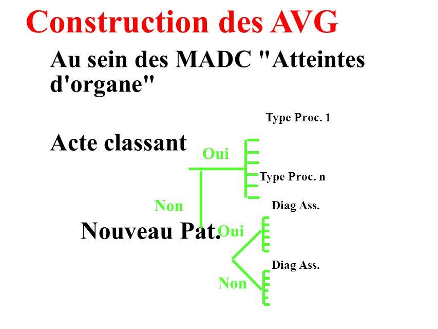 Construction des AVG Au sein des MADC