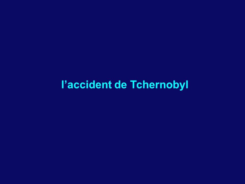 laccident de Tchernobyl