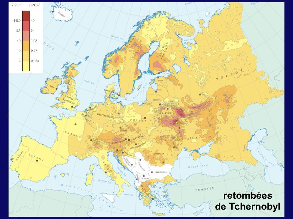 retombées de Tchernobyl