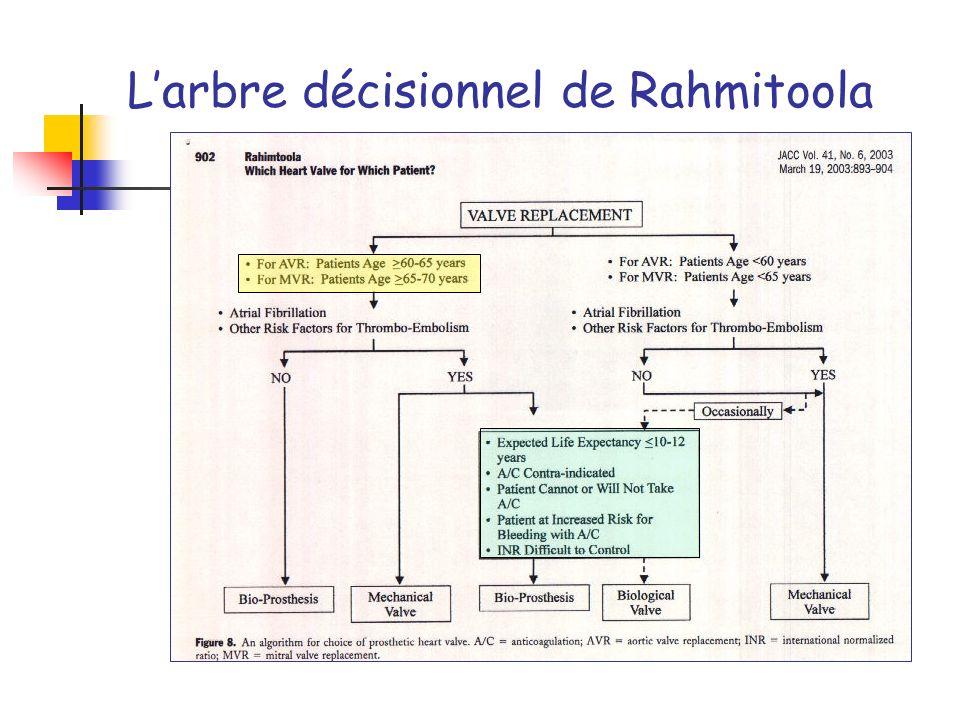 Larbre décisionnel de Rahmitoola