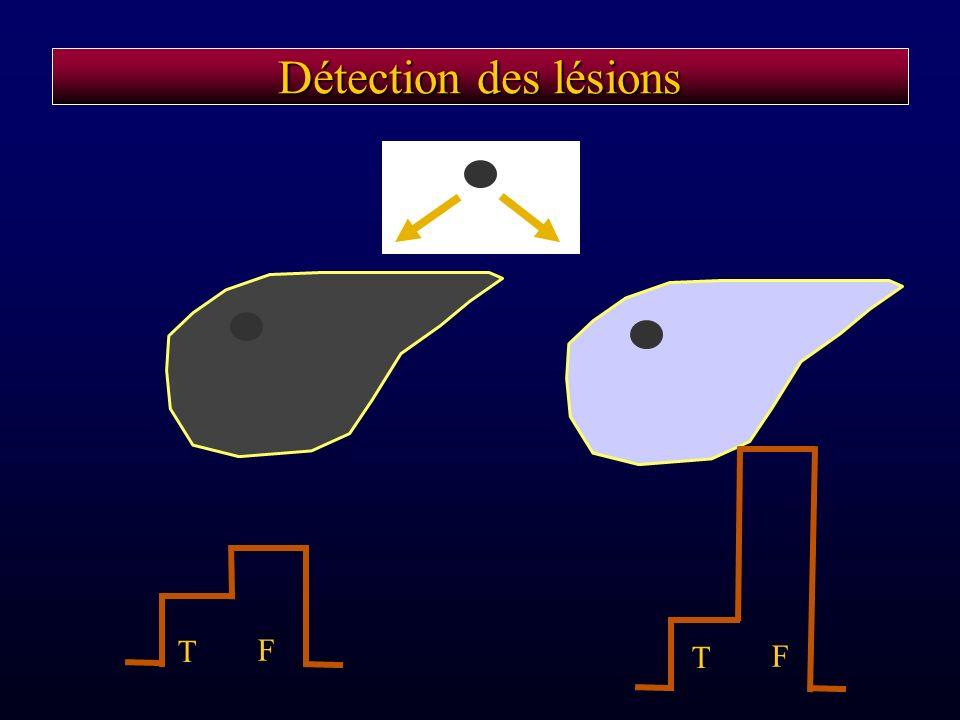 Détection des lésions T F T F