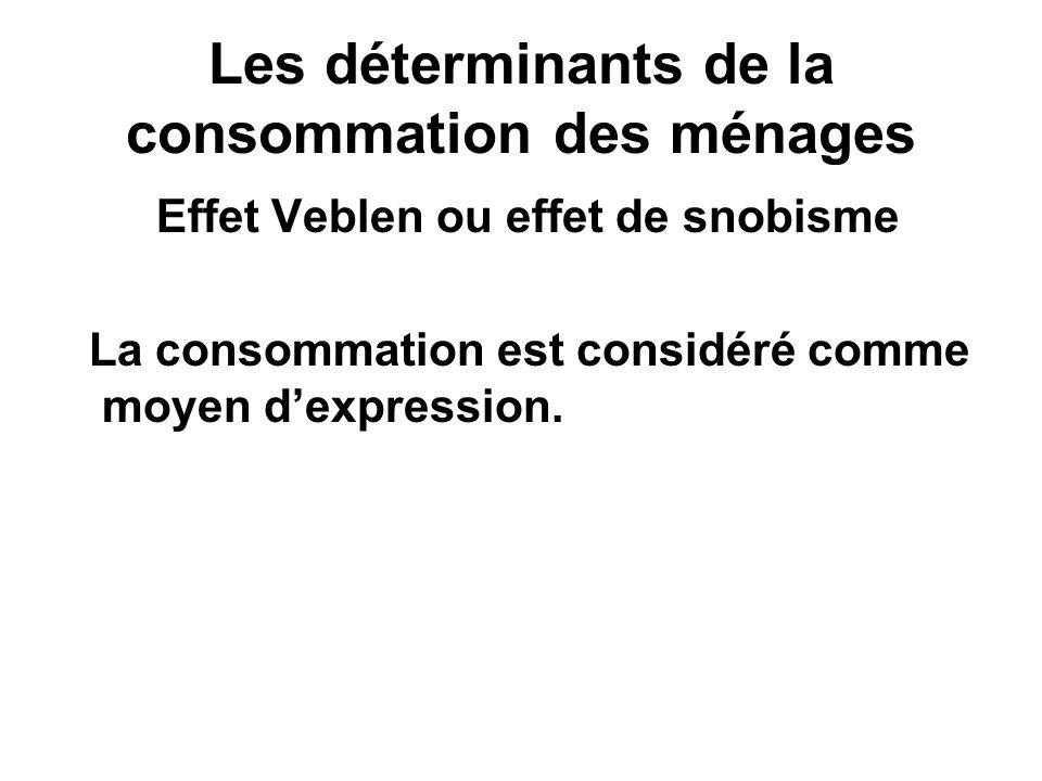 Les déterminants de la consommation des ménages Linfluence des firmes avec la publicité, le marketing… [J.K.