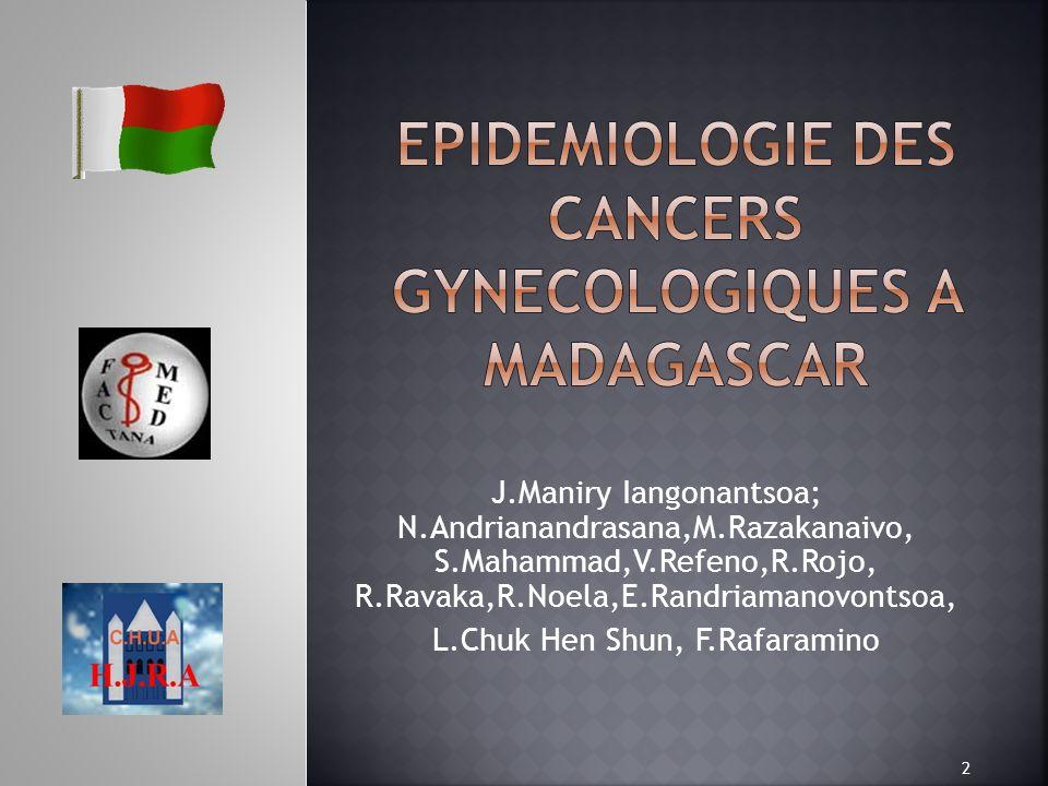 J.Maniry Iangonantsoa; N.Andrianandrasana,M.Razakanaivo, S.Mahammad,V.Refeno,R.Rojo, R.Ravaka,R.Noela,E.Randriamanovontsoa, L.Chuk Hen Shun, F.Rafaram
