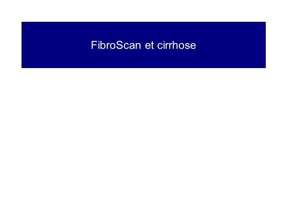 FibroScan et cirrhose