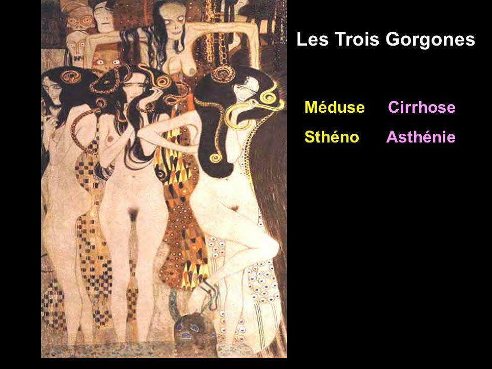 Méduse Cirrhose Sthéno Asthénie Les Trois Gorgones