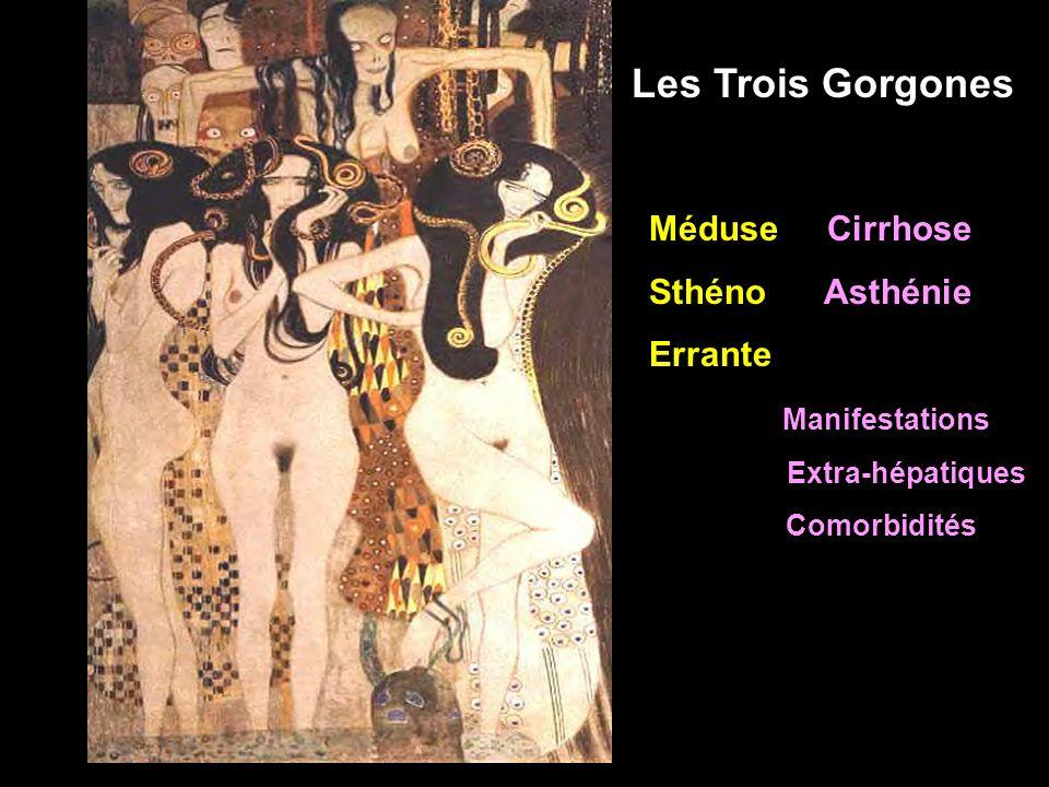 Méduse Cirrhose Sthéno Asthénie Errante Manifestations Extra-hépatiques Comorbidités Les Trois Gorgones