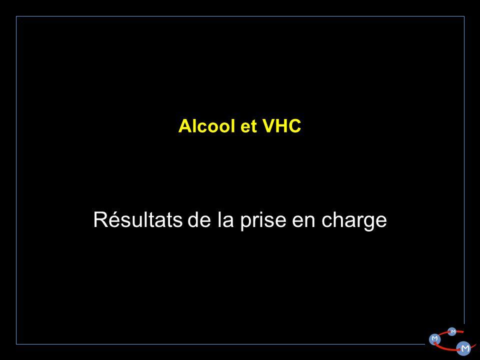 Alcool et VHC Résultats de la prise en charge