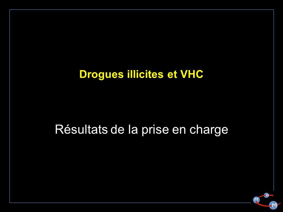 Drogues illicites et VHC Résultats de la prise en charge