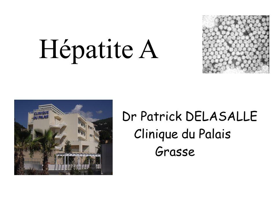 Dr Patrick DELASALLE Clinique du Palais Grasse Hépatite A