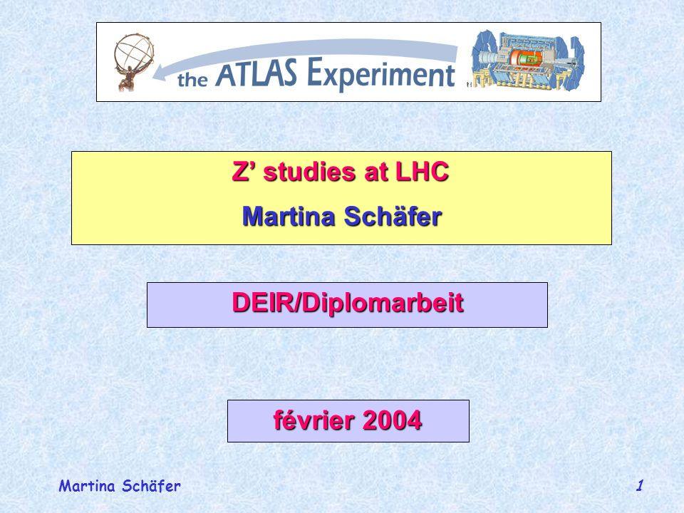 Martina Schäfer 2 ûModèles pour les Z` ûDonnées ûCoupures ûDY et interférence ûLargeur totale ûSection efficace ûRapidité du Z ûA_FB(M) ûA_FB(Y) û…