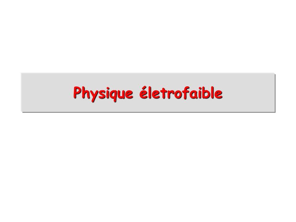 Physique életrofaible
