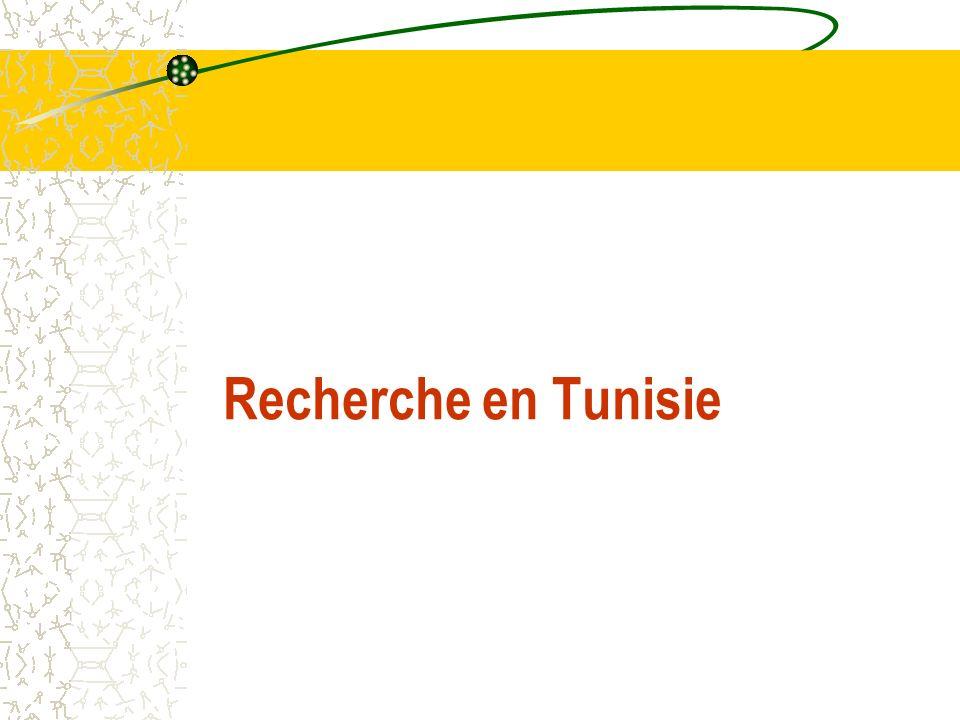 Recherche en Tunisie