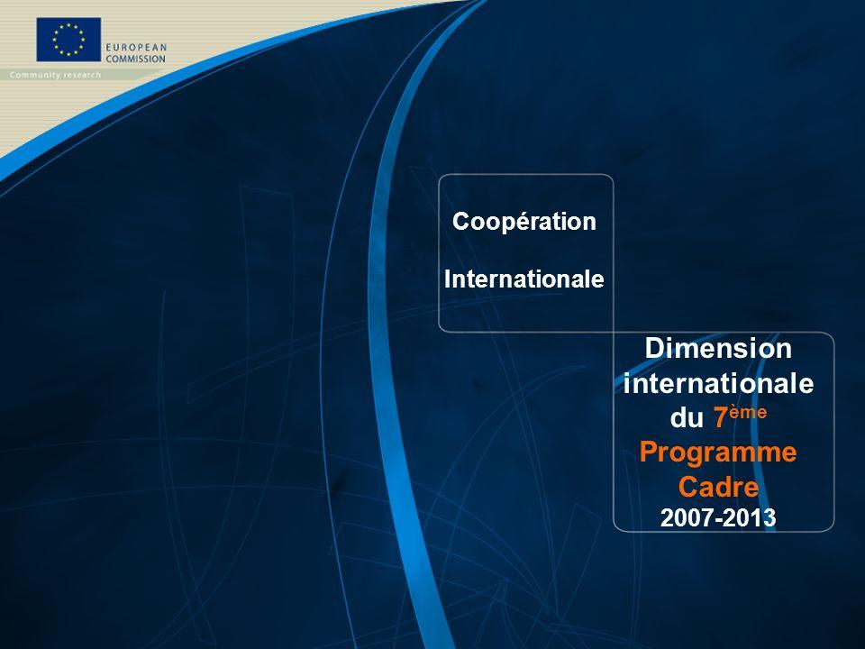 Information Recherche communautaire: http://ec.europa.eu/research http://ec.europa.eu/research 7 ème Programme Cadre: http://ec.europa.eu/research/fp7 http://ec.europa.eu/research/fp7 Information sur les programmes et projets: http://www.cordis.lu/ http://www.cordis.lu/ RTD info magazine: http://ec.europa.eu/research/rtdinfo/ http://ec.europa.eu/research/rtdinfo/ Mobilité (Marie Curie): http://europa.eu.int/mariecurie-actions http://europa.eu.int/eracareers http://europa.eu.int/mc-opportunities/ Demande dinformation: http://ec.europa.eu/research/enquiries/ http://ec.europa.eu/research/enquiries/