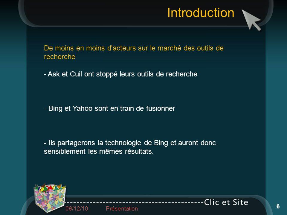 Intervenant Régis BACHER 03 88 26 84 42 06 71 37 19 57 regis@clic-et-site.com Référencement naturel et payant 97 09/12/10 Présentation