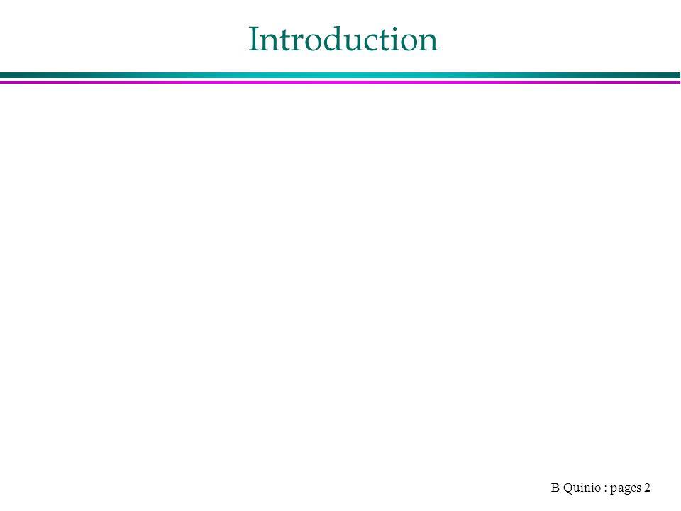 B Quinio : pages 13 Référencement et publicité 1.Introduction 2.