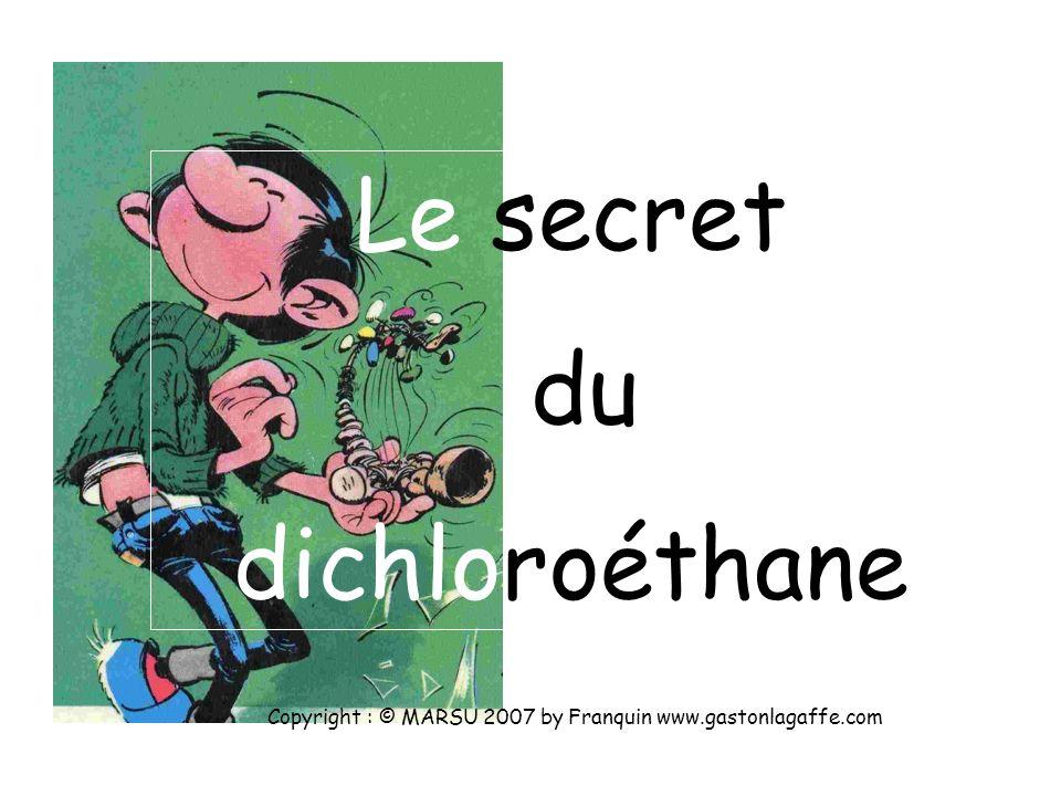 Pour Cl, Z = 17Pour C, Z = 6 Copyright : © MARSU 2007 by Franquin www.gastonlagaffe.com Pour H, Z = 1